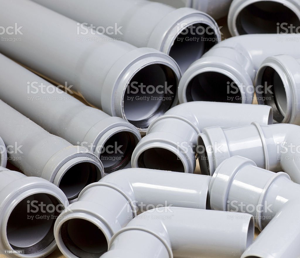 Sewer pipes royalty-free stock photo