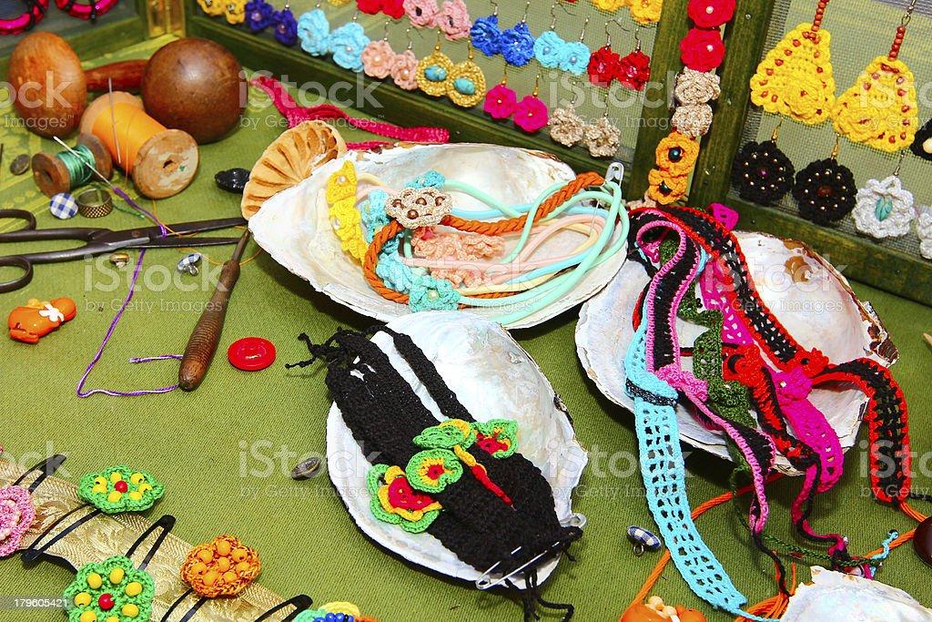 Sewing art royalty-free stock photo