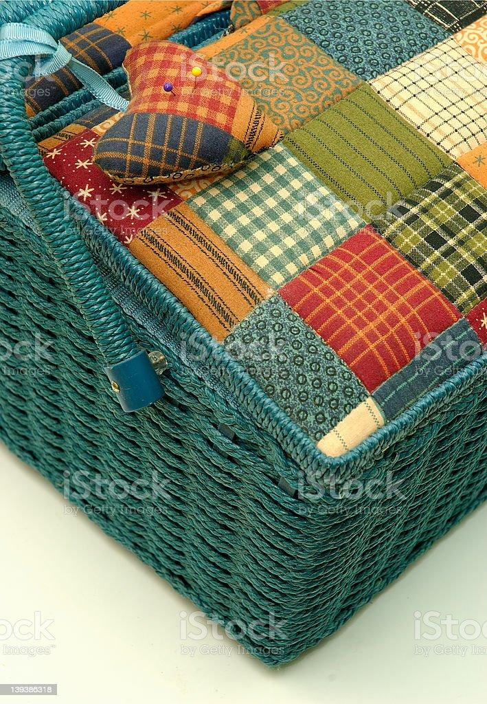 Sewing Box royalty-free stock photo