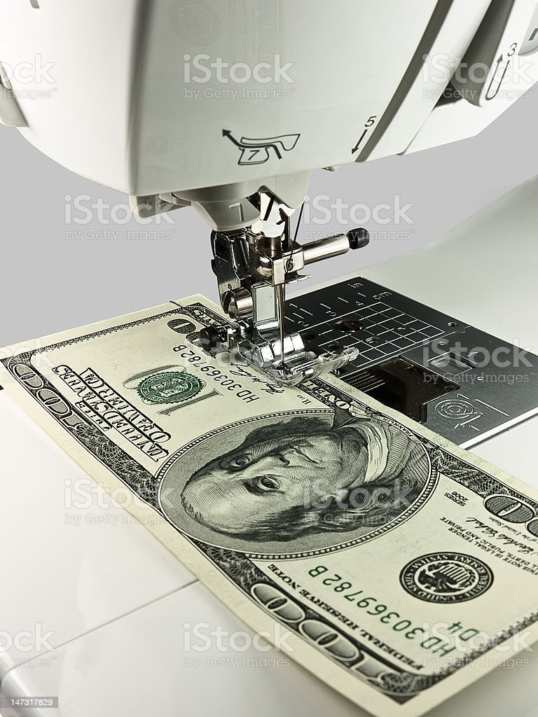 Sewing Business stock photo