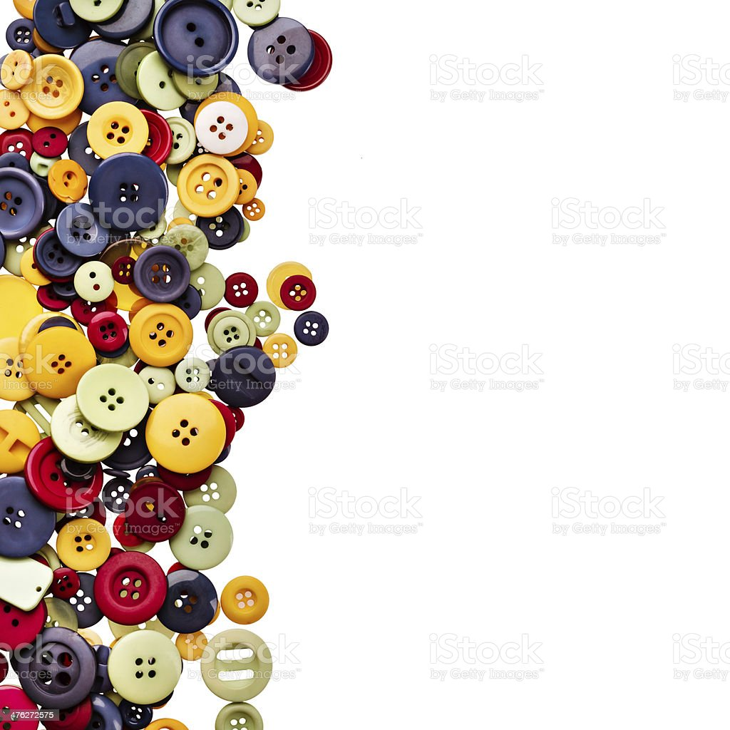 Sewing buttons royalty-free stock photo