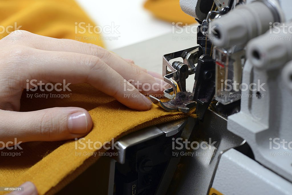 Sewing concept stock photo