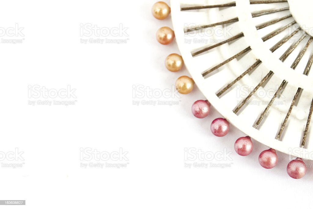 Sewing kit equipment royalty-free stock photo
