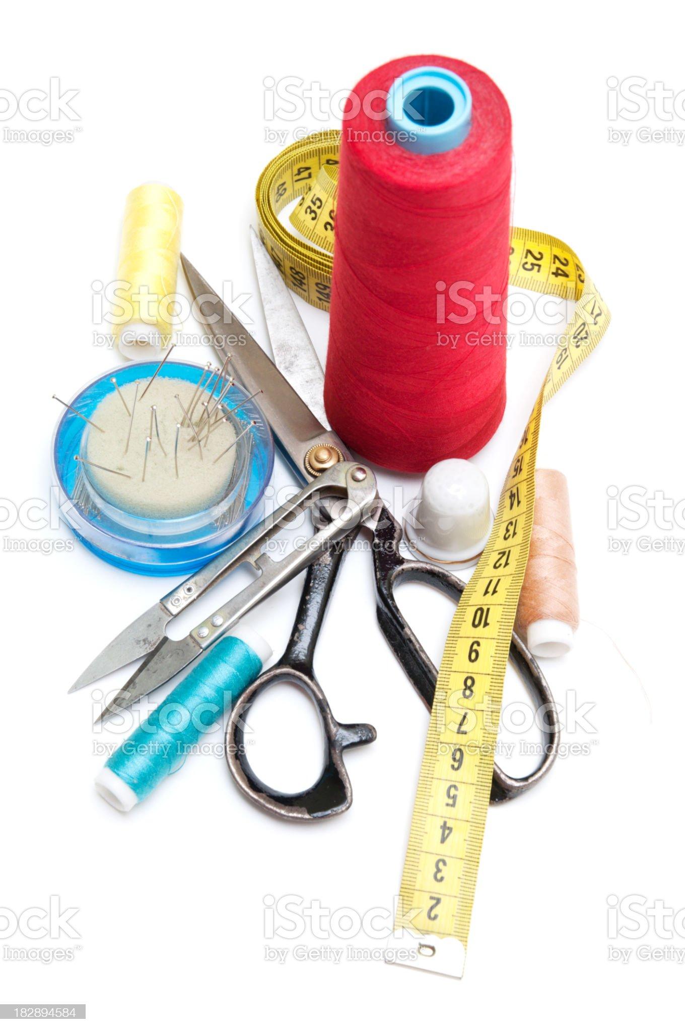 Sewing kit royalty-free stock photo