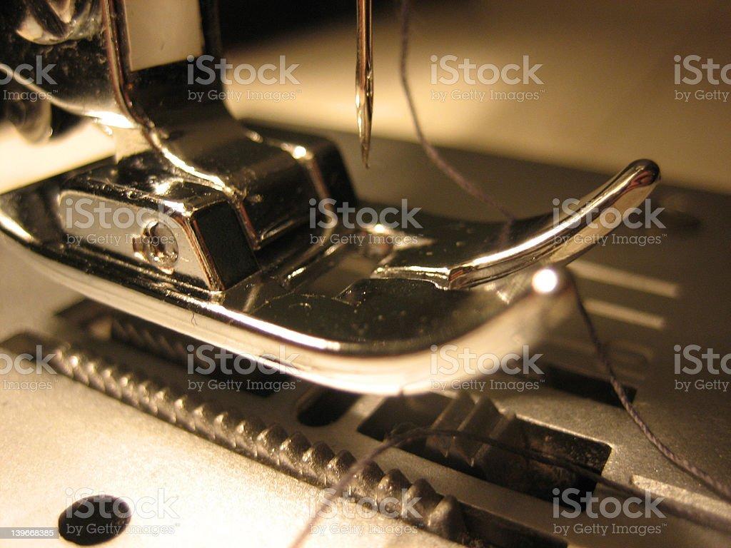 Sewing machine 1 royalty-free stock photo