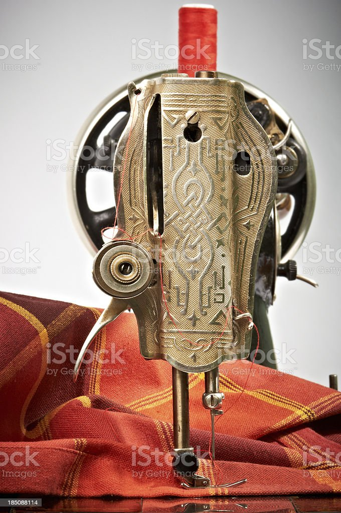 Sewing Machine Detail royalty-free stock photo