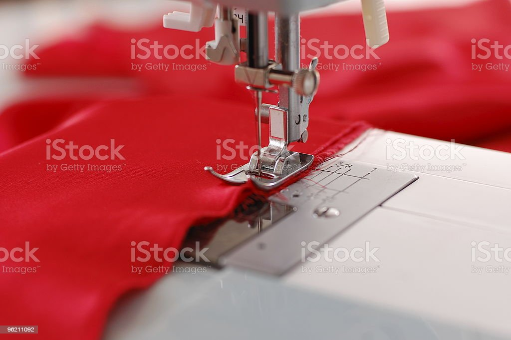 Sewing Machine Detail stock photo