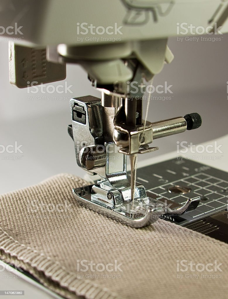 Sewing machine. royalty-free stock photo