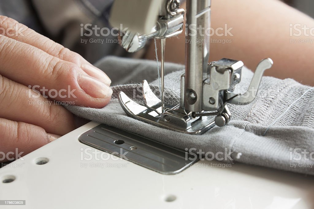 sewing machine royalty-free stock photo