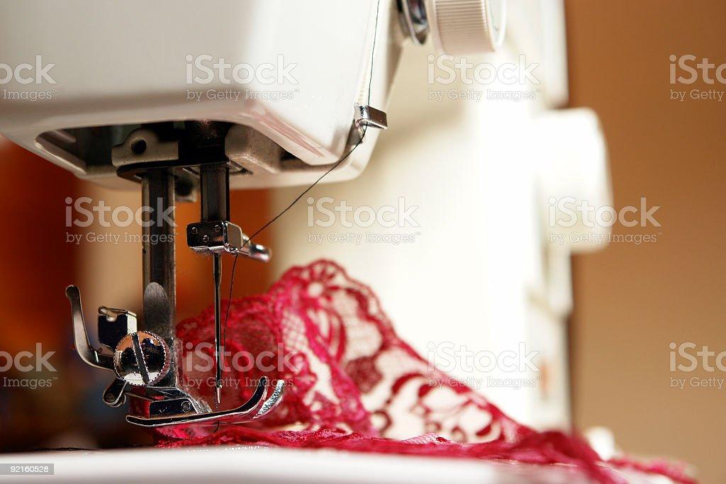 Sewing machine (2) royalty-free stock photo