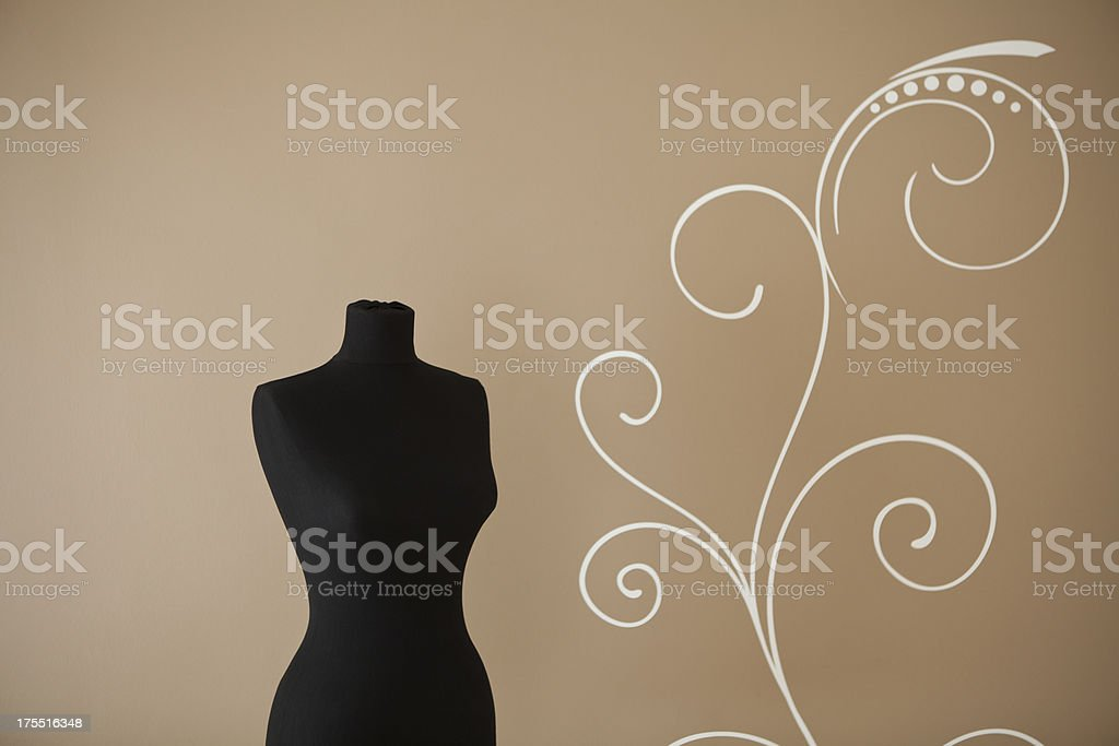 Sewing Mannequin Series royalty-free stock photo