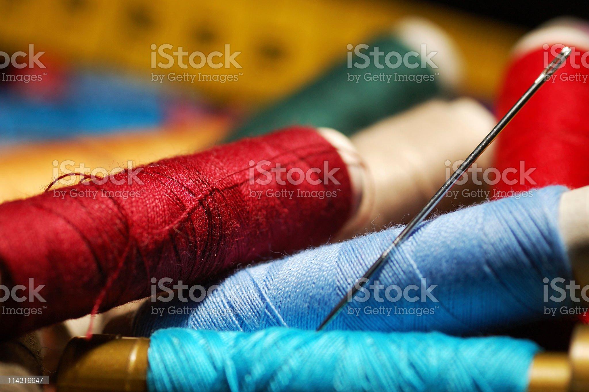 Sewing Materials royalty-free stock photo