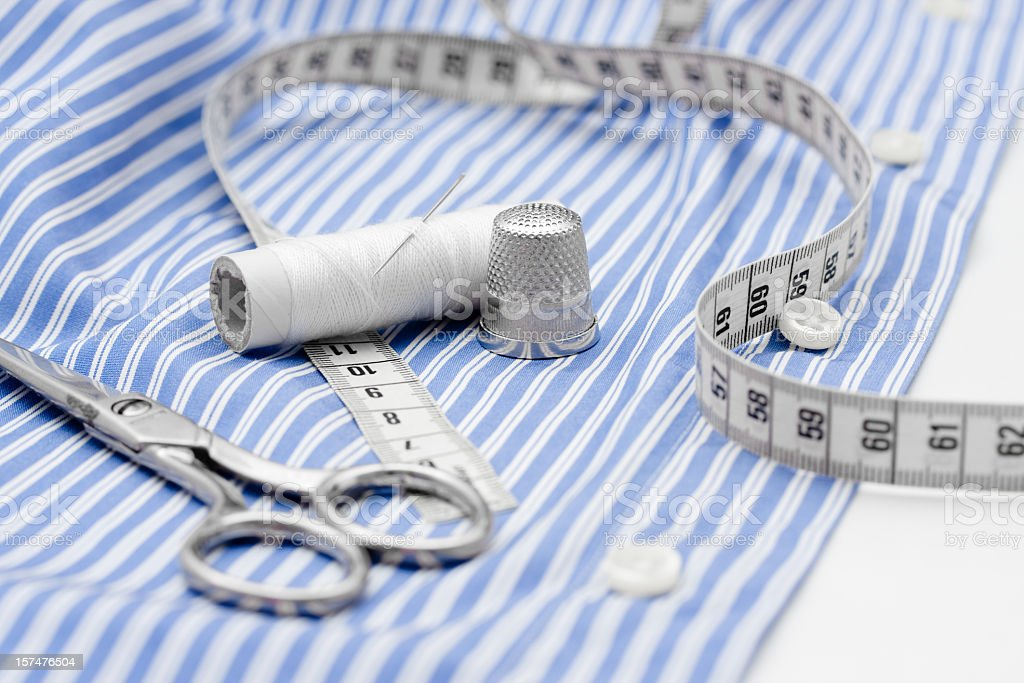 Sewing stock photo