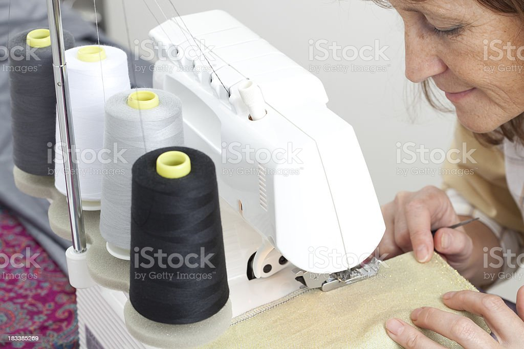 Sewing. royalty-free stock photo