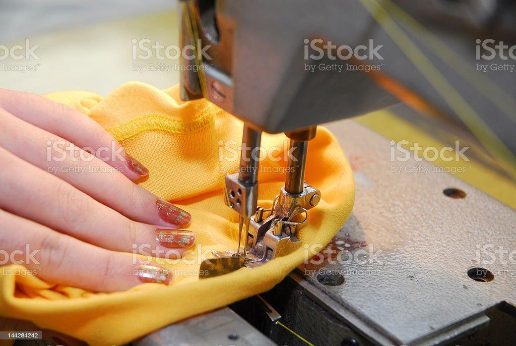 sewing-machine royalty-free stock photo