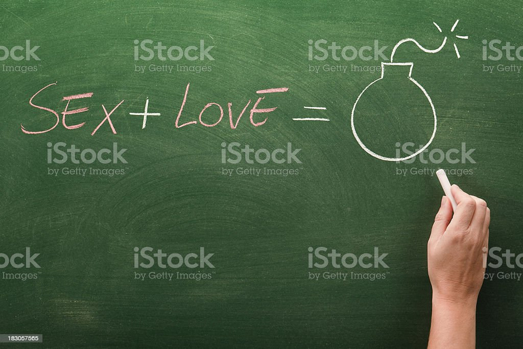 sex and love stock photo