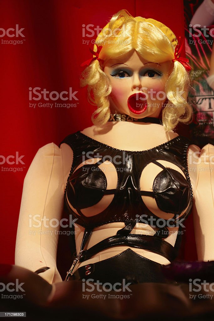 Sex doll stock photo