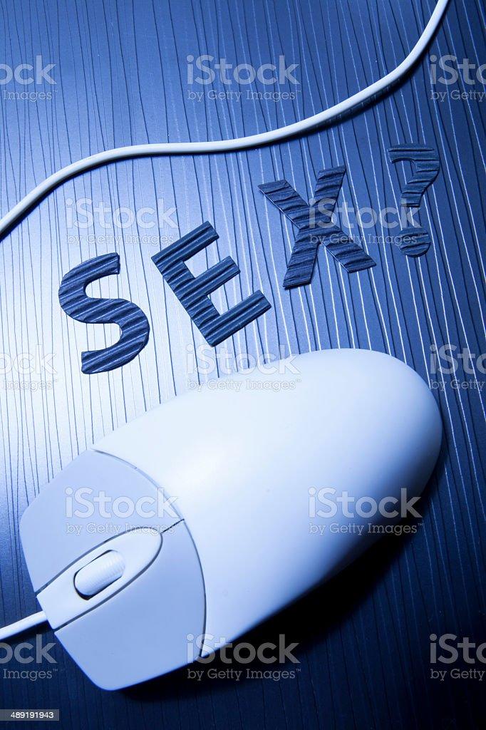 sex education on internet stock photo
