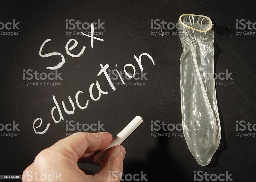 Sex education royalty-free stock photo