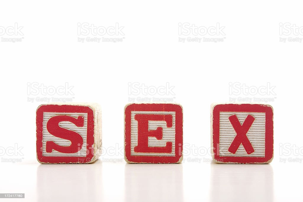 Sex Education royalty-free stock photo