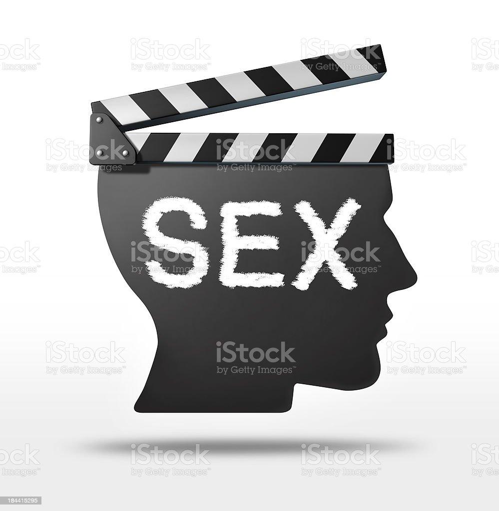 Sex movies royalty-free stock photo
