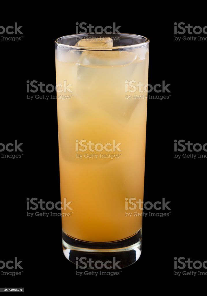 Sex on the beach drink stock photo