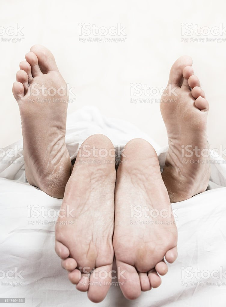 sex on the bed royalty-free stock photo