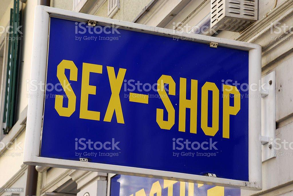 Sex Shop royalty-free stock photo