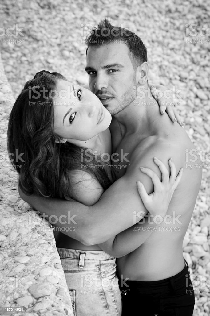 sexi couple royalty-free stock photo
