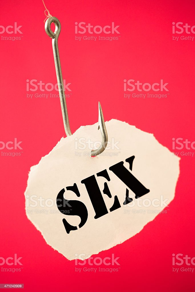 Sexual addiction royalty-free stock photo
