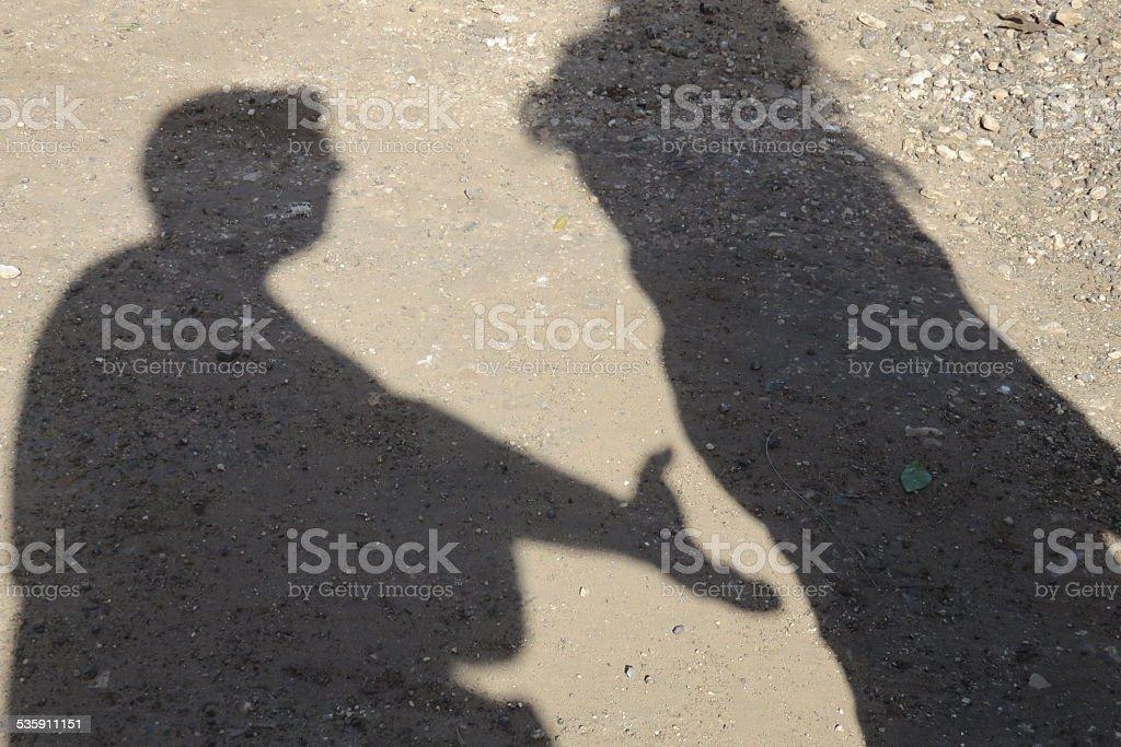 Sexual assault stock photo