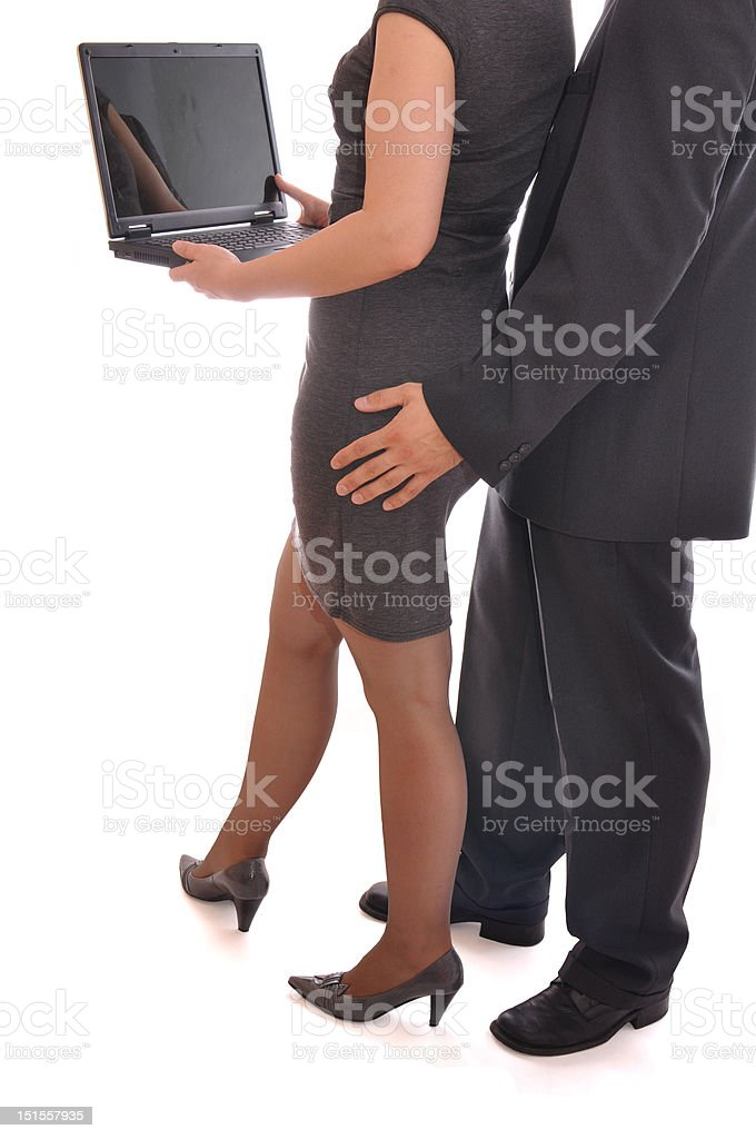 Sexual Harassment. royalty-free stock photo