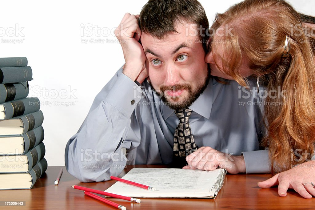 Sexual harassment. stock photo