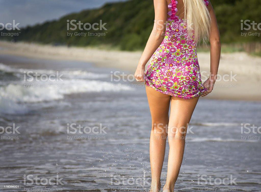 Sexual legs stock photo