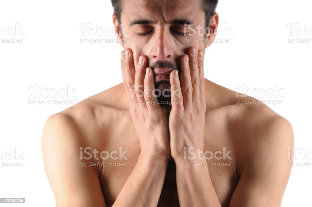 Sexual Problems of Man royalty-free stock photo