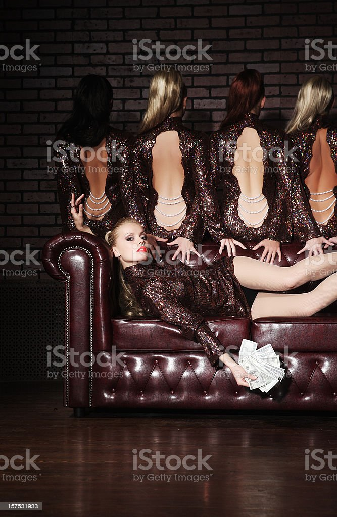 Sexual woman concept. royalty-free stock photo