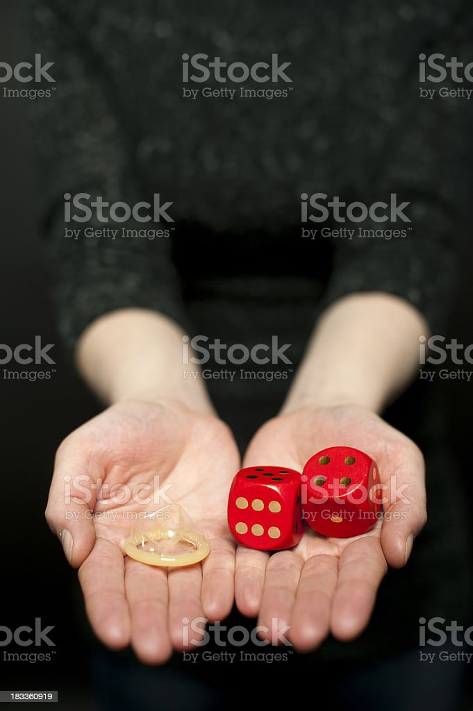 Sexuality and probability royalty-free stock photo