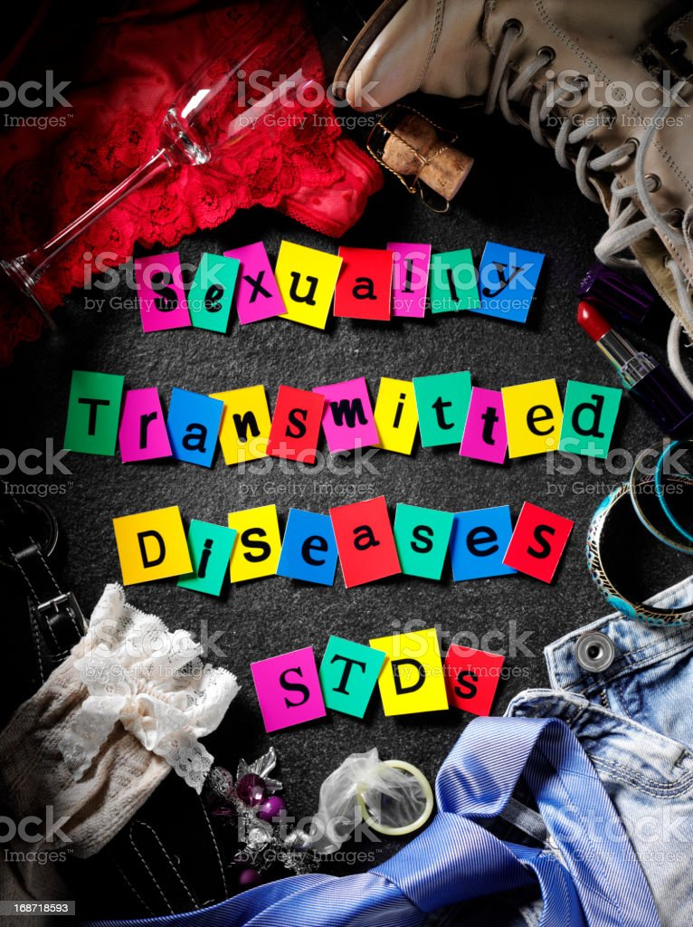 Sexually Transmitted Diseases royalty-free stock photo
