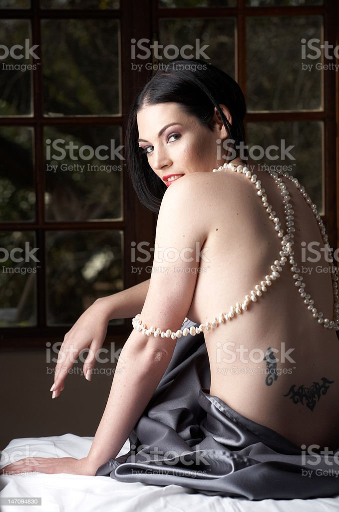 Sexy adult woman royalty-free stock photo