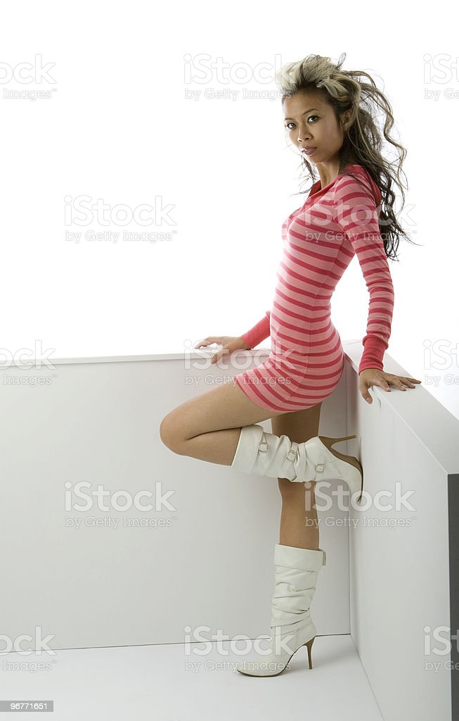 Sexy Asian Woman stock photo