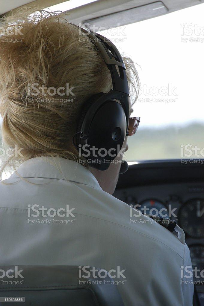 Sexy Aviator royalty-free stock photo