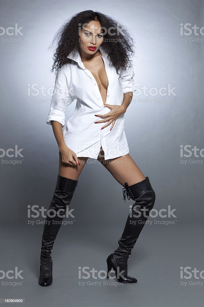 Sexy babe royalty-free stock photo