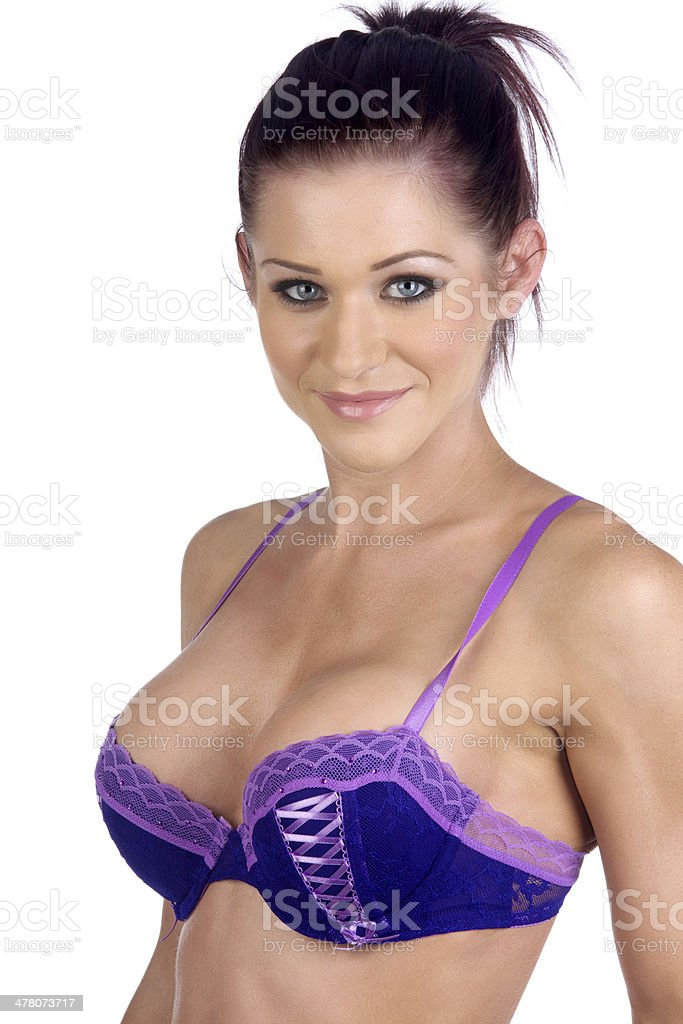 Sexy Beautiful Woman In Lingerie royalty-free stock photo