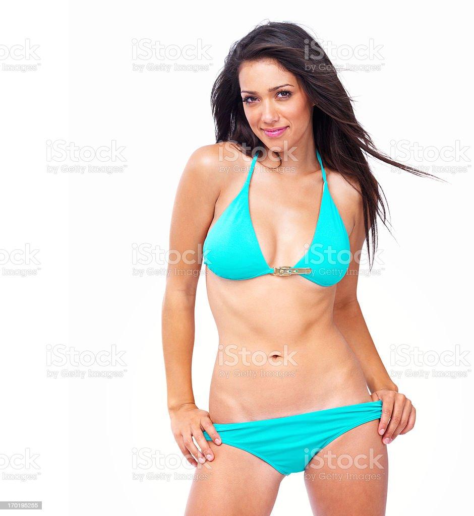 Sexy Bikini Babe stock photo