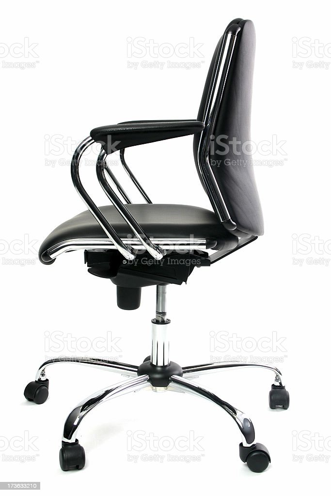 Sexy Black Chair 3 royalty-free stock photo