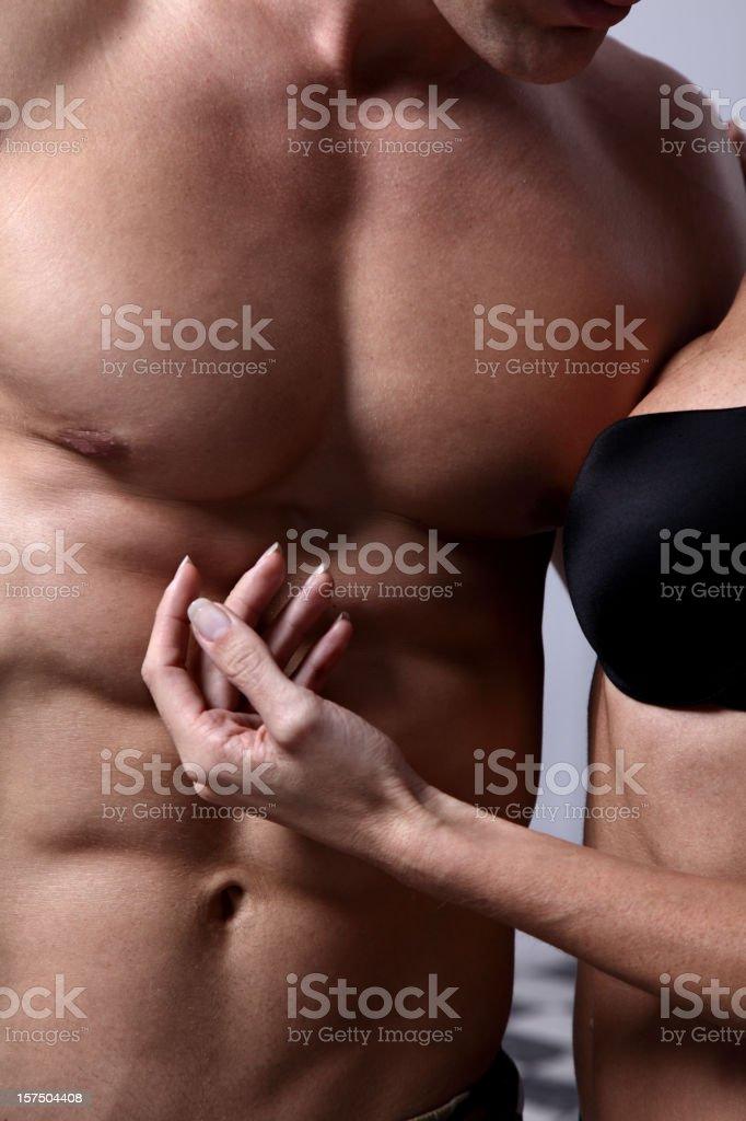 Sexy bodies royalty-free stock photo