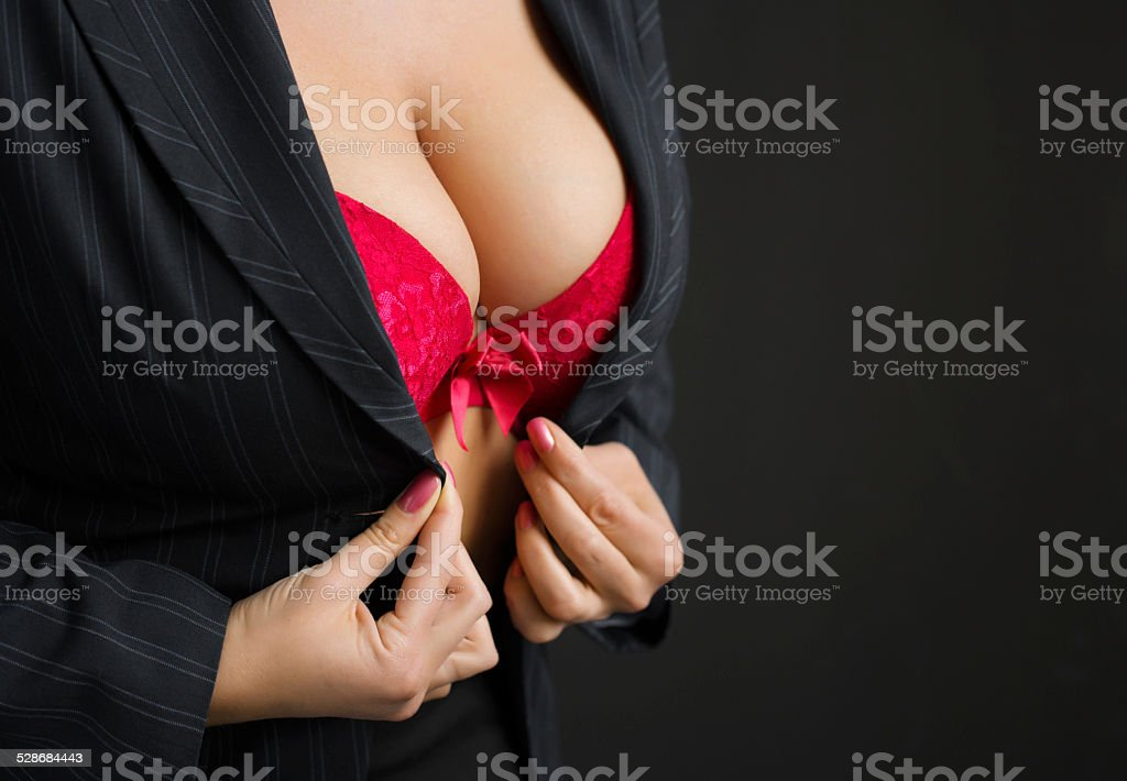 Sexy business lady stock photo