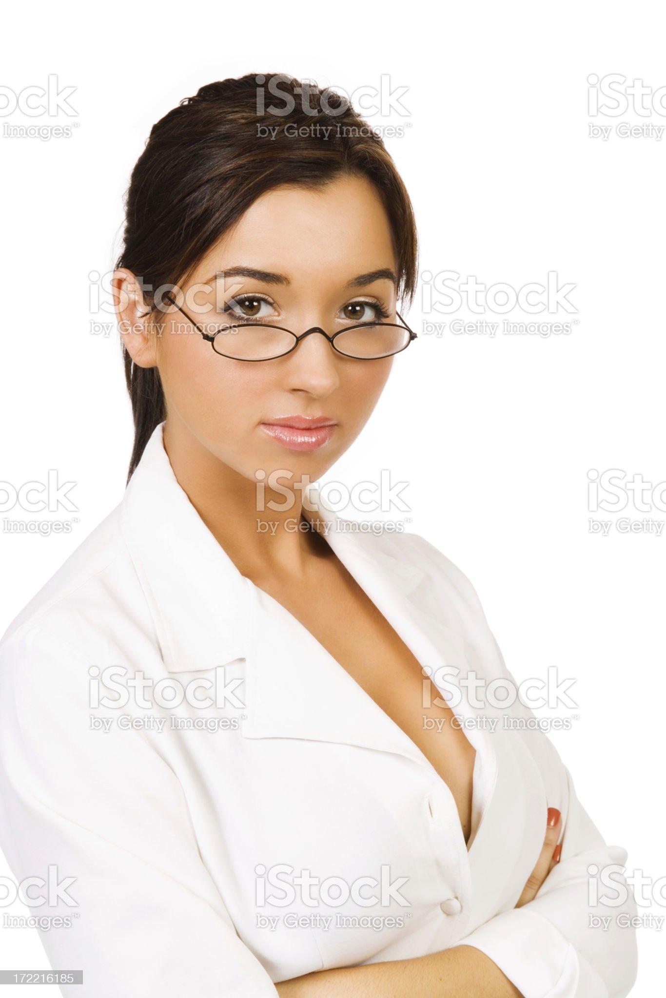 Sexy Businesswoman royalty-free stock photo
