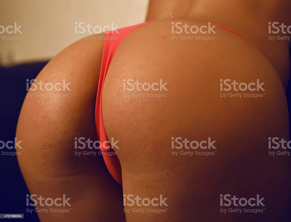 Sexy butt stock photo