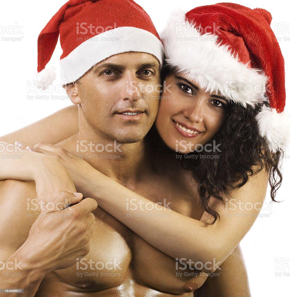 Sexy Christmas royalty-free stock photo